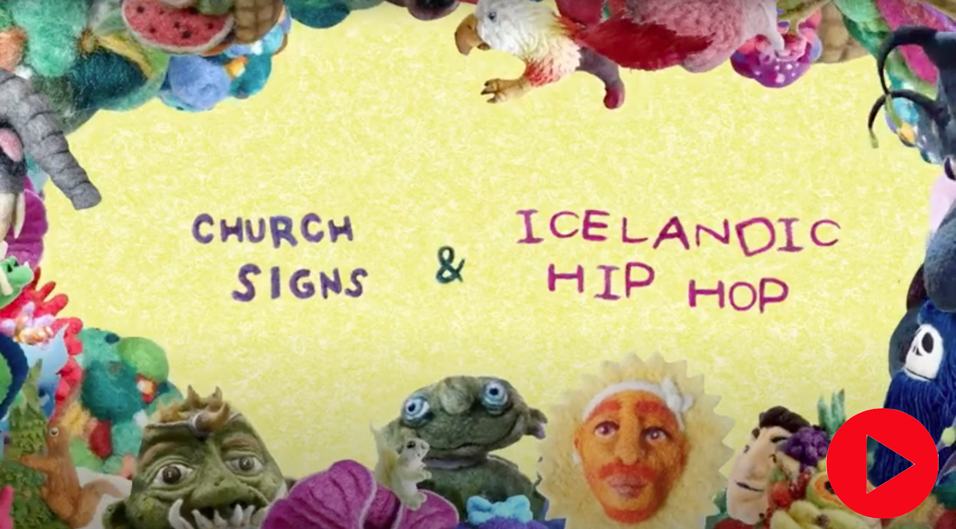 Watch Mixed Taste Church Signs & Icelandic Hip Hop