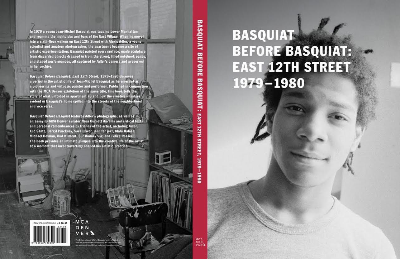 Basquiat Before Basquiat Book from MCA Denver