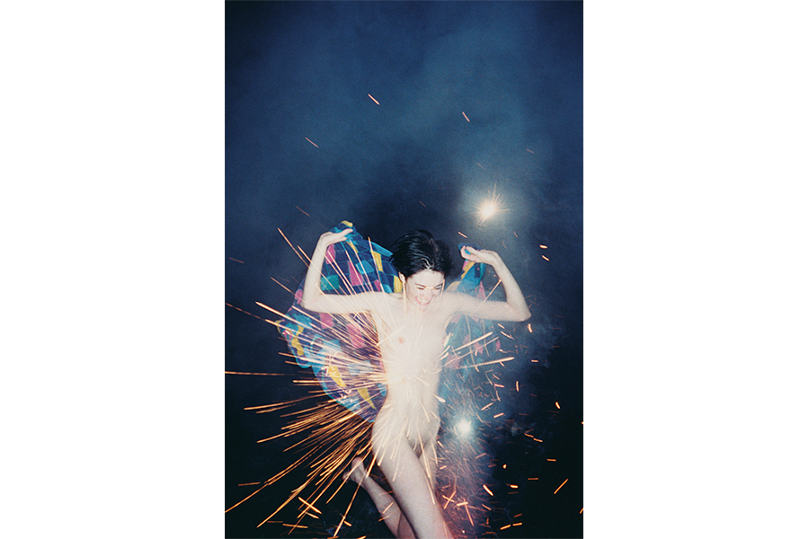 Fireworks, 2002. C-print, 40 x 30 inches.
